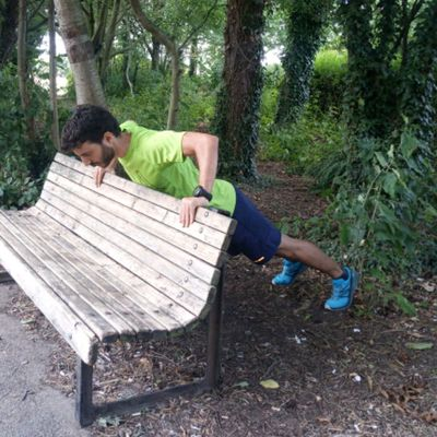 Push Ups In Bench