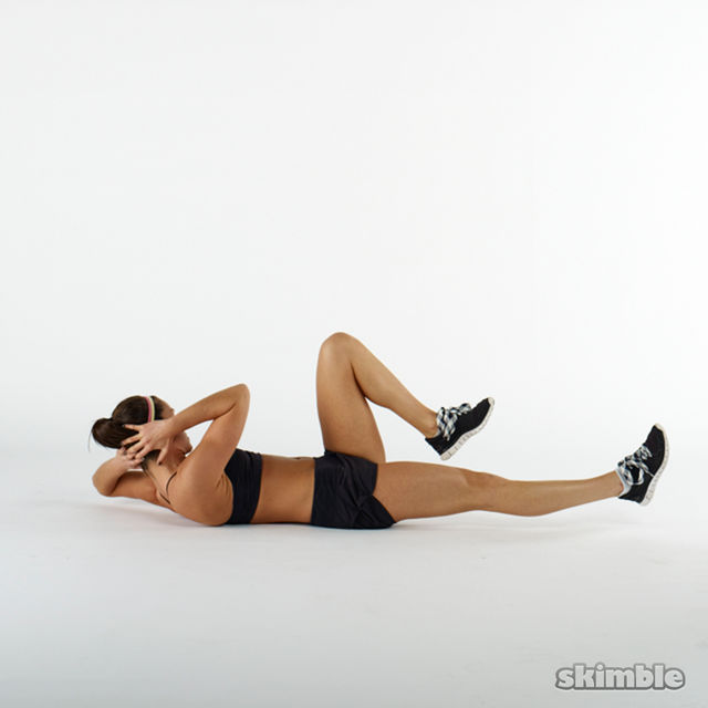 How to do: Yoga Bicycles - Step 2