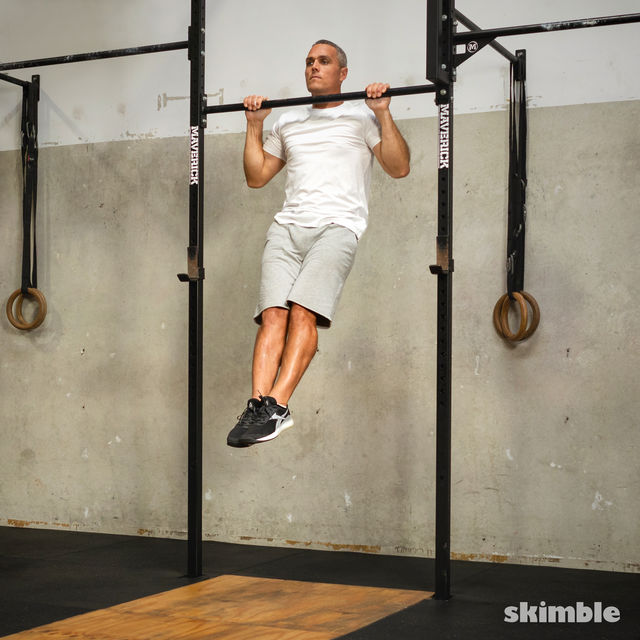 How to do: Reverse Pull-Ups - Step 1