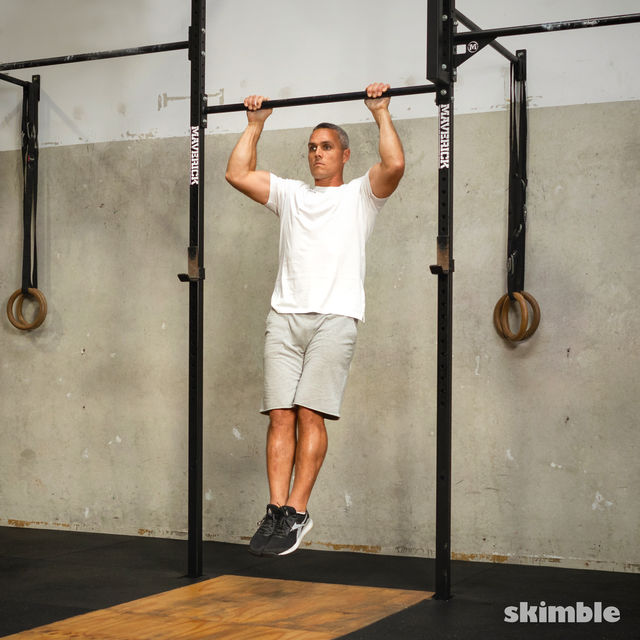 How to do: Reverse Pull-Ups - Step 2