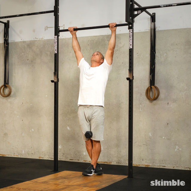 How to do: Weighted Pull-Ups - Step 2