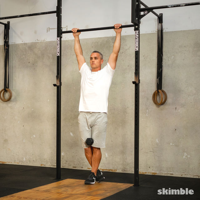 How to do: Weighted Pull-Ups - Step 4