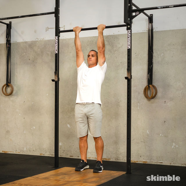 How to do: L Chin-Ups - Step 2