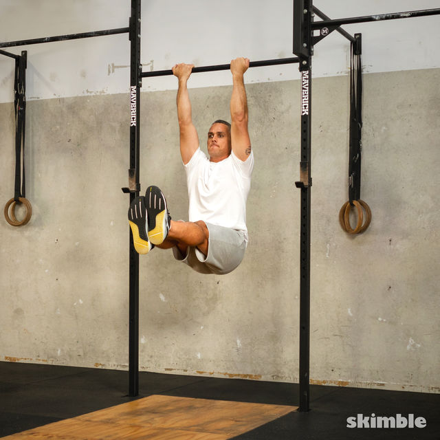 How to do: L Chin-Ups - Step 3