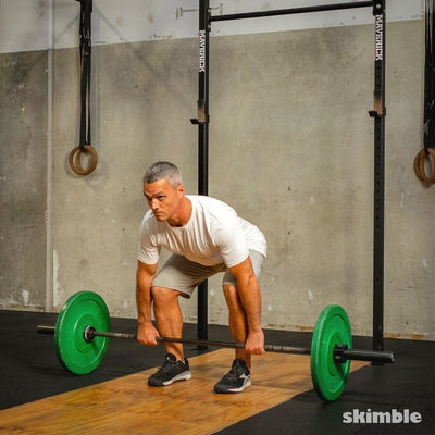 Barbell Bent-Over Rows