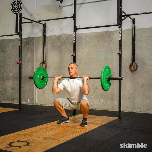 How to do: Thrusters - Step 4