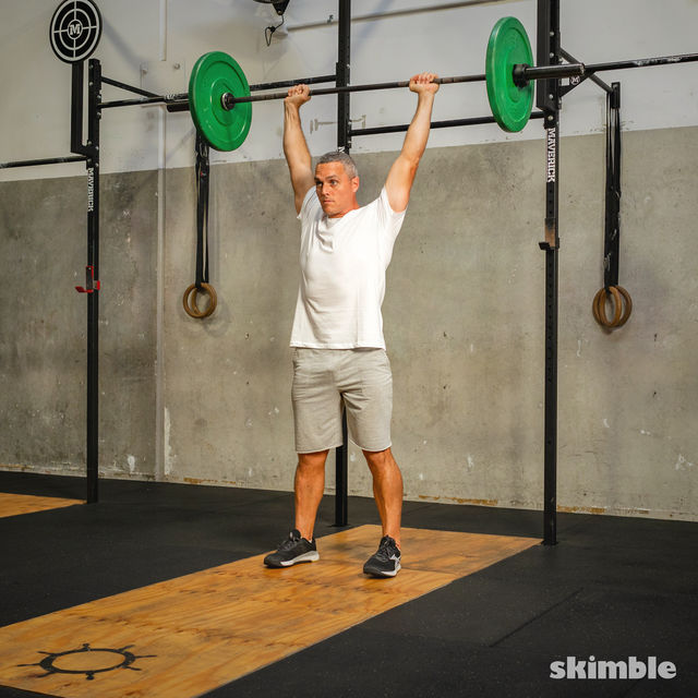 How to do: Thrusters - Step 5