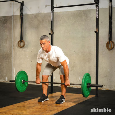 Pause Deadlifts