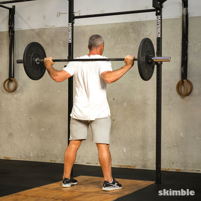 Low-Bar Back Squats