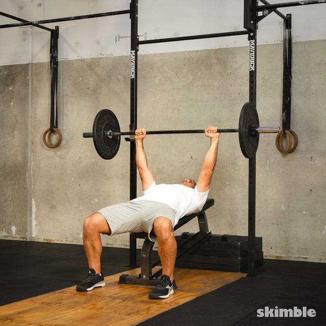 How to do: Barbell Incline Bench Press - Step 5