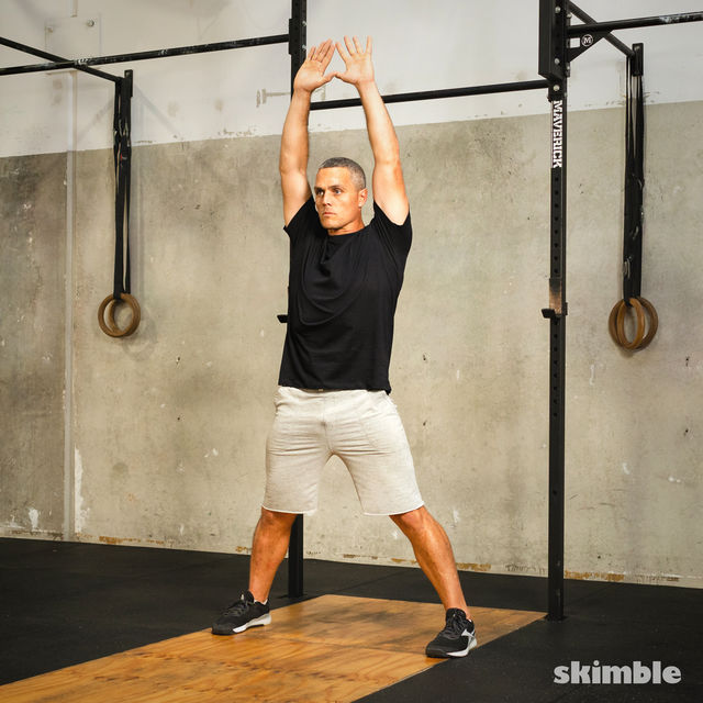 How to do: Jumping Jacks - Step 6