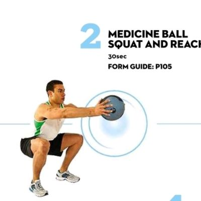 Squat And Reach