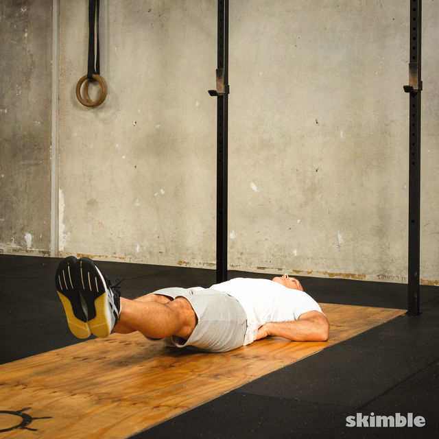 How to do: Split Abs - Step 2