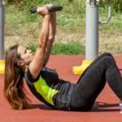 Dumbbell (Plate) Crunches