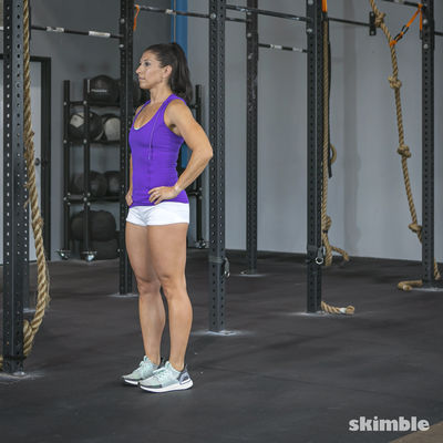 Glute Reverse Lunges