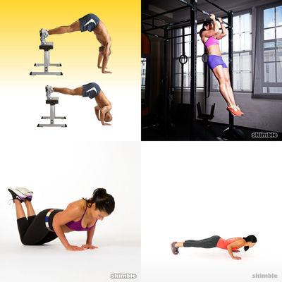Reto Fitness de Ejercicios - Autocarga - Nivel Intermedio (Fitness)
