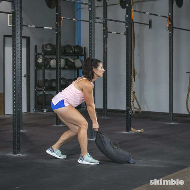 How to do: Sandbag Drag - Step 4