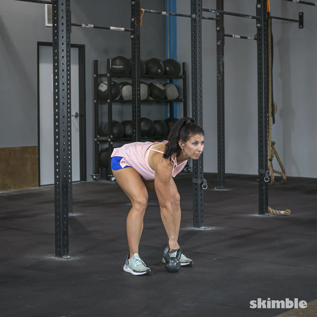 How to do: Right Kettlebell Swings - Step 12