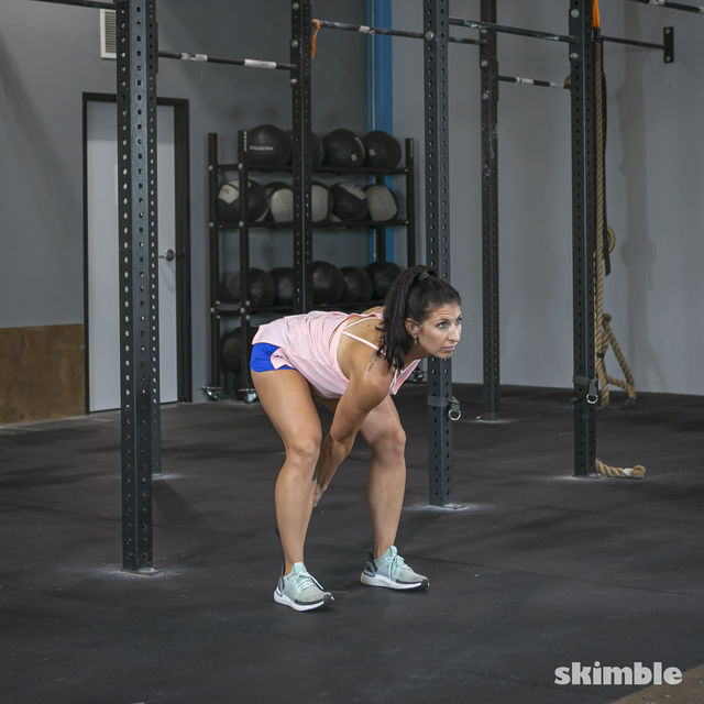 How to do: Right Kettlebell Swings - Step 11