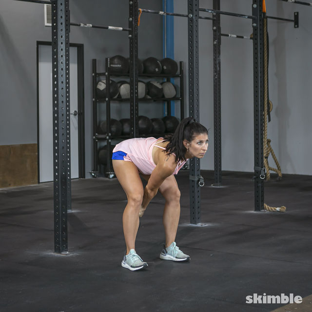How to do: Right Kettlebell Swings - Step 7