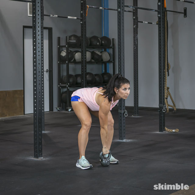 How to do: Right Kettlebell Swings - Step 6