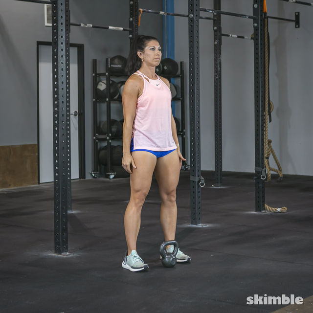 How to do: Right Kettlebell Swings - Step 5