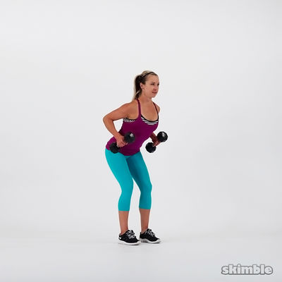 20 Bent Over Row