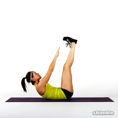 Vertical Leg Crunches