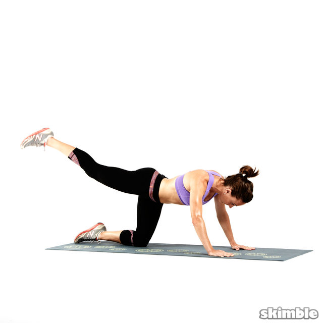How to do: Glute Circles - Step 3