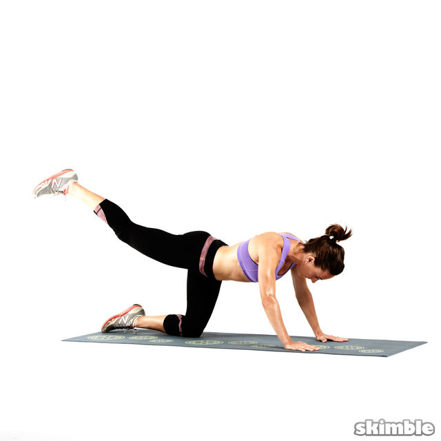 How to do: Glute Circles - Step 4
