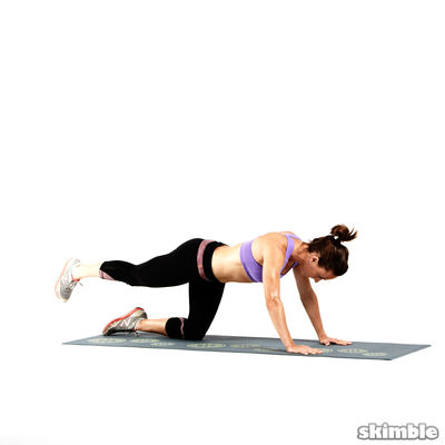 Glute Circles - Right Leg