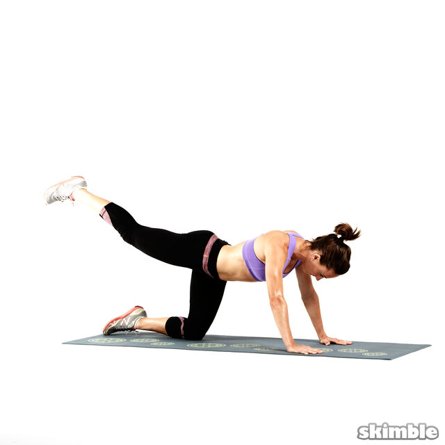 How to do: Glute Circles - Step 7