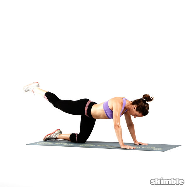 How to do: Glute Circles - Step 8
