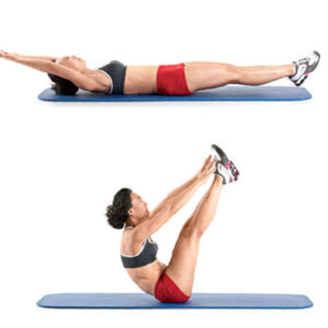V Snaps Exercise How To Workout Trainer By Skimble