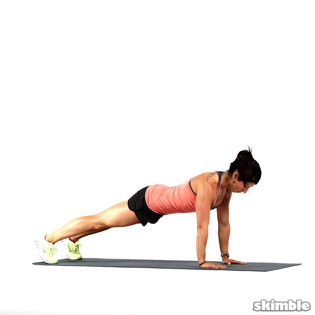 How to do: Forearm Dolphin Push-ups - Step 1