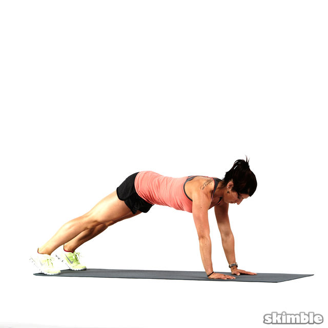 How to do: Forearm Dolphin Push-ups - Step 2