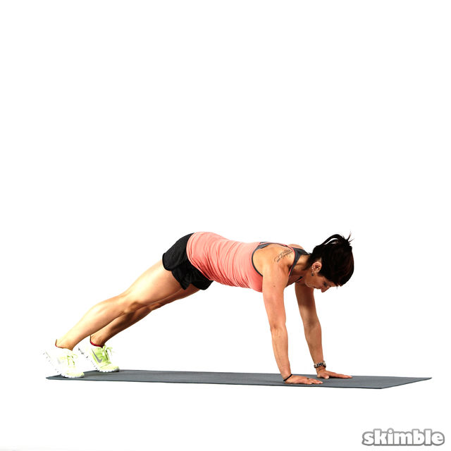 How to do: Forearm Dolphin Push-ups - Step 4