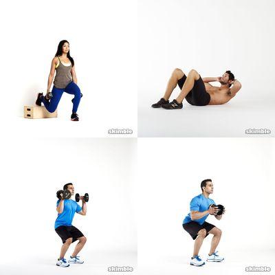 Gym full body