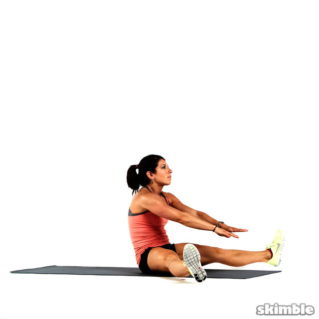 How to do: Explosive Hamstring Sit-Up Rolls - Step 2
