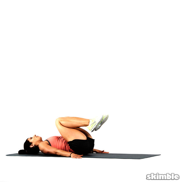 How to do: Hamstring Sit-Up Rolls - Step 1