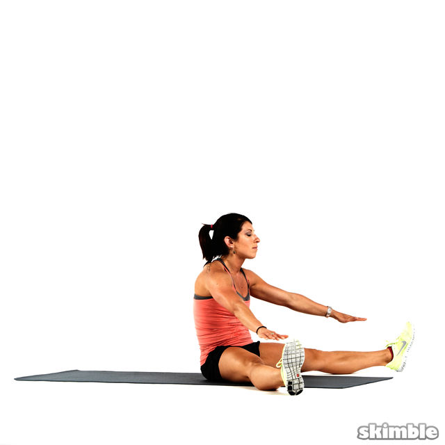 How to do: Explosive Hamstring Sit-Up Rolls - Step 7