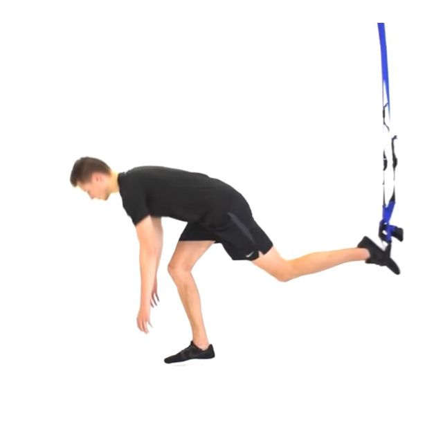 Single Leg Deadlift Right Leg Exercise How To