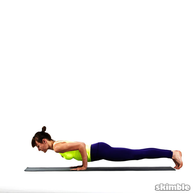 How to do: Chaturanga - Step 4