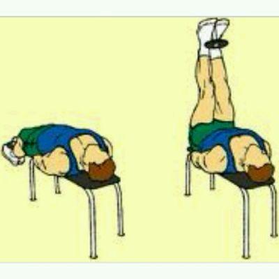 DUMBBELL Leg Lifts