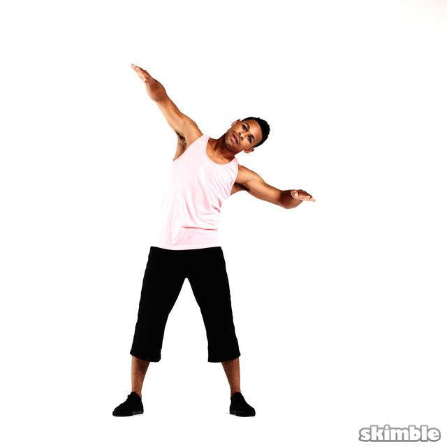 How to do: Arm Blades - Step 4