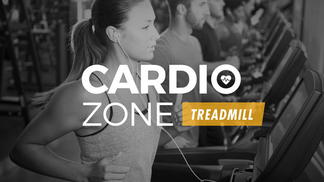 Cardio Zone: Treadmill