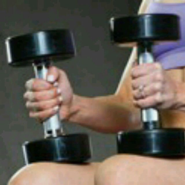 How to do: Drop Dumbbells - Step 1