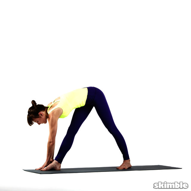 How to do: Right Twisting Triangle - Step 5