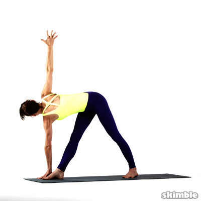 RIGHT WIDE LEG TWIST Opposite Hand to Foot HOLD