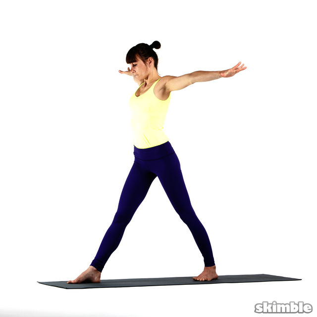 How to do: Right Twisting Triangle - Step 1